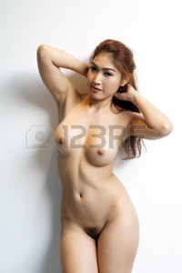 sexy pictures of naked women pixs beautiful sexy naked women stand against white wall photo