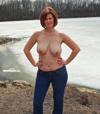 topless mom pics busty topless mom jeans