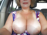 topless mom pics busty mom topless car
