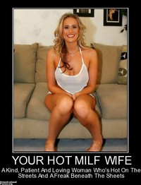 wife milf photos org demotivational poster hot milf wife kind patient loving woman whos posters mom