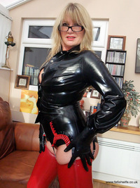 wife milf photos pvc latex fetish wife milf