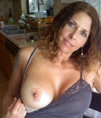 wife milf photos media hot wife shows off natural large boobs milf piece ass filmy lingerie