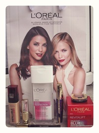 angelica mature oreal bevent loreal paris beauty event