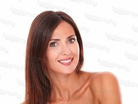 beautiful mature stock photo beautiful mature hispanic female smiling