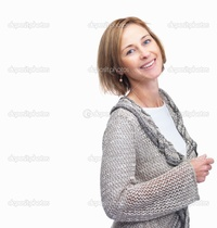 beautiful mature depositphotos portrait beautiful mature woman posing against white backgrou stock photo