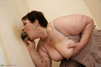 big mature aedc edcfc this titted mature slut gets taste cock
