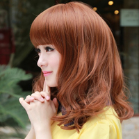 big mature htb xxfxxxi sale stock wavy hair wig fringe bangs mature style wigs black store product
