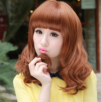 big mature htb xxfxxxh sale stock wavy hair wig fringe bangs mature style wigs black store product