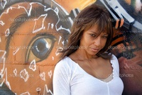 black mature depositphotos beautiful mature black woman graffiti stock photo