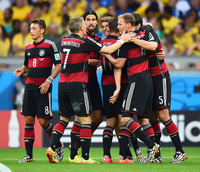 brazil mature sports jul germany report slide show football world cup take look germanys journey final klose brazil argentina