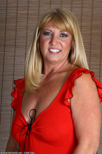 busty mature galleries all over busty mature amateur sunnie sexy red dress