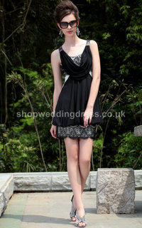 classy mature upfile prom dresses quick delivery straps short classy mature embellished black cocktail