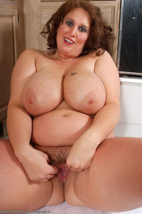 hairy bbw mature enormous redhead bbw cook plays bush kitchen hairy mature brother