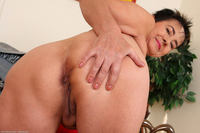 horny mature ass photo large yvette dark haired horny granny shows mature ass free gilf pics