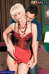 lady mature skinny mature eve bannon small boobs lady red skirt corset attachment