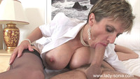 lady sonia mature gallery lady sonia rideing sucking cock cumload face