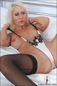 lady sonia mature sexy stockings lady sonia leather skirt british nylons mature stocking free