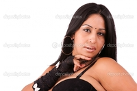 latin mature depositphotos mature latin woman isolated white studio shot stock photo