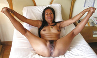 mature pussy mature asian pussy spreader from indonesia shaved