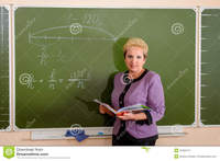 mature teacher mature teacher smiling giving lesson classroom education occupations royalty free stock photography