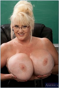 mature teacher pics mature teacher kayla kleevage denudes giant tits classroom