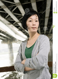 mature asian sport mature asian woman portrait outdoor daytime stock photos