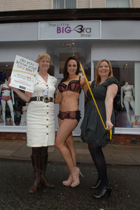 mature bra little bra shop opening day store month