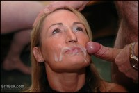 mature facial afu britbuk picture lovely daniella second bukkake shown