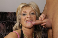 mature facial milf meat good looking mature blonde tits nice ass poses nude gets facial