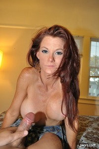 mature fake tits galleries redhead milf fake tits amateur mature