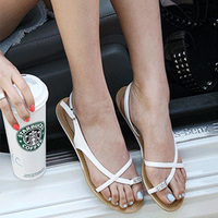 mature feet bao uploaded fjgwxl rxxxijyc sandals style sandal swivel clip after toe low women shoes stumble feet mature pure color code