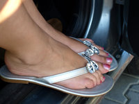 mature feet pre flip flops summer feet eci morelikethis artists