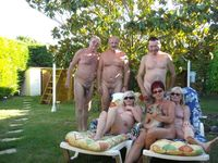 mature group mature group nudism yard naturist