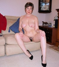 mature hairy pussy grown old woman karin shows off hairy pussy extreme mature mom