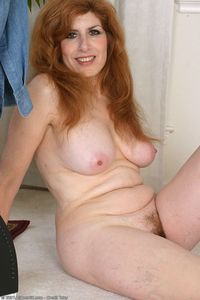 mature hairy gal allover nadine