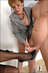 mature handjob galleries mature handjob duo