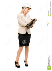 mature hard mature woman supervisor wearing hard hat isolated white backg length stock photos