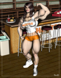 mature hooters eedc pre lin hooters girl stone morelikethis digitalart