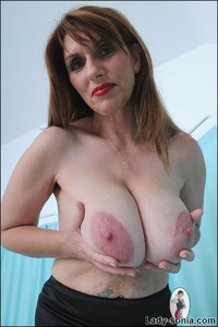 mature huge sexy stockings lady sonia huge natural tits british mature wearing stockin