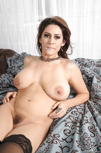 mature latina milf pics seductive latina milf nylon stockings gets banged hardcore