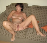 mature naked mature lle naked sofa legs open fuck