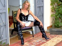 mature nylon selinasnylonsex dream latex wanna get disciplined this hot mature pantyhose