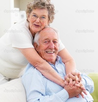 mature old depositphotos mature woman hugging old man couch stock photo