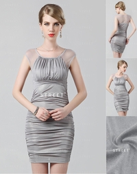 mature party productimg lcfs grey ruched scoop neck sexy mature party plus size long cocktail dress merge