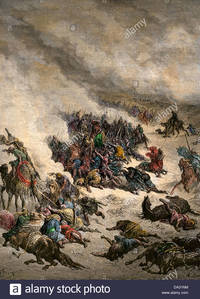 mature persia comp persian army cambyses destroyed north african sandstorm stock photo king persia