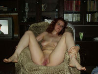 mature red head mature redhead shows pussy