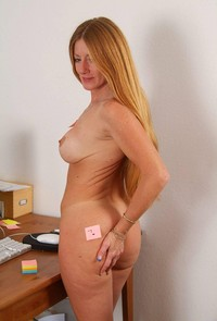 mature redhead redhead porn sexy mature wendy office photo