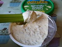 mature spreads dairylea springy onion dip mighty mature
