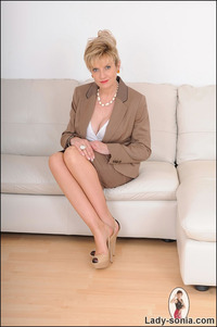 mature strip fets sonia hot nylons mature secretary business suit strip