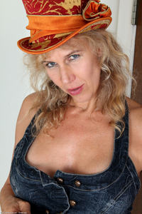 mature strip photo large sabrina mature orange hat skirt strip free gilf pics